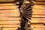 Onbewerkt timmerhout